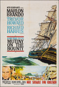 "Movie Posters:Adventure, Mutiny on the Bounty (MGM, 1962). Folded, Very Fine-. Australian One Sheet (27"" X 40""). Adventure.. ..."