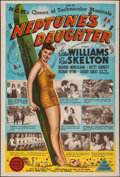 """Movie Posters:Comedy, Neptune's Daughter (MGM, 1949). Folded, Fine/Very Fine. Australian One Sheet (27"""" X 40""""). Comedy.. ..."""