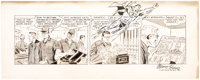 Wayne Boring Superman Daily Comic Strip #8150 Original Art dated 1-30-65 (Bell-McClure Syndicate, 1965)