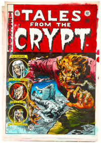 Tales From the Crypt Preliminary Hand-Colored Cover Guide (EC Comics, 1979)