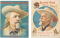 """Books:Pamphlets & Tracts, William F. """"Buffalo Bill"""" Cody: Two Fine Official Show Programs...."""