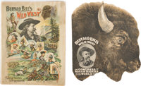 """William F. """"Buffalo Bill"""" Cody: Two 1890's Official Wild West Programs"""