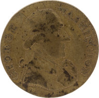 "George Washington: Large Size ""Success"" Token"
