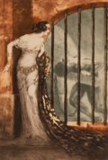 Prints & Multiples, Louis Justin Laurent Icart (French/American, 1888-1950). Dalila, 1929. Etching in colors on wove paper...