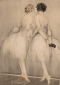 Prints & Multiples, Louis Justin Laurent Icart (French/American, 1888-1950). Group of Two Etchings, mid-20th century. Etch...