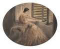 Prints & Multiples, Louis Justin Laurent Icart (French/American, 1888-1950). Madame Bovary, 1929. Etching in colors on paper. 16 x 20-1/2 in...