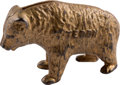 """Political:3D & Other Display (1896-present), Theodore Roosevelt: Cast Iron """"Teddy"""" Bear Stationary Bank...."""