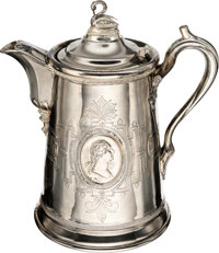 George Washington: Silver Plate Water Pitcher