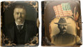 Political:3D & Other Display (1896-present), Theodore Roosevelt: Pair of Photo Albums with Celluloid Covers.... (Total: 2 Items)