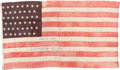 Military & Patriotic:Civil War, Gettysburg Reunion Flag: 65th Regiment New York Volunteer Infantry....