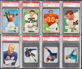 Football Cards:Lots, 1950-54 Bowman Football Graded Collection (11)....