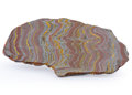 Lapidary Art:Carvings, Tiger Iron Slab. Ord Ranges. Pilbara. Western Australia. 10.24 x 5.51 x 0.36 inches (26.00 x 14.00 x 0.91 cm)...