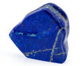 Lapidary Art:Carvings, Lapis Free-Form. Afghanistan. 3.91 x 3.80 x 0.94 inches (9.94 x 9.66 x 2.40 cm). ...