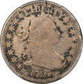 Early Half Dollars, 1797 50C O-101a, T-1, High R.4, VG8 PCGS. Amato Unlisted....