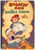 Books:General, Gruelle Johnny Raggedy Ann In Cookie Land Hardcover First Edition (M. A. Donohue and Co., 1931)....