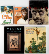 Illustration Related Books Group of 5 (Various Publishers, 1995-2011).... (Total: 5 Items)