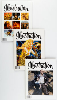 Illustration Magazine Group of 38 (Illustration Magazine, 2003-2019) Condition: Average NM-.... (Total: 38 Box Lots)