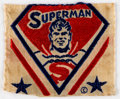 Memorabilia:Superhero, Rare Vintage Superman Cloth Patch (DC, c. 1939-40)....