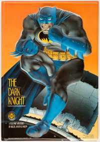 Batman: The Dark Knight Raised Relief In-Store Promotional Standee (DC, 1985)