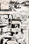 Original Comic Art:Panel Pages, Michael H. Price and Graham Nolan Revenge of the Prowler #3 Story Page 4 with Serial Killer Ed Gein Original Art (...