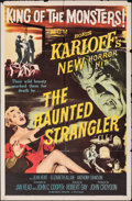 """Movie Posters:Horror, The Haunted Strangler (MGM, 1958). Folded, Fine+. One Sheet (27"""" X 41""""). Horror.. ..."""