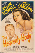 """Movie Posters:Comedy, The Heavenly Body (MGM, 1944). Folded, Fine/Very Fine. One Sheet (27"""" X 41""""). Comedy.. ..."""