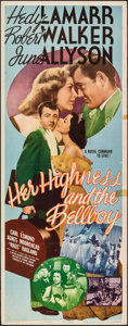 """Movie Posters:Comedy, Her Highness and the Bellboy (MGM, 1945). Folded, Fine/Very Fine. Insert (14"""" X 36""""). Comedy.. ..."""