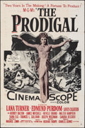 "Movie Posters:Drama, The Prodigal & Other (MGM, 1955). Folded, Fine+. Military One Sheet (27"" X 41"") & Australian Daybill (13.25"" X 30""). Drama.... (Total: 2 Items)"