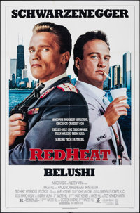 """Red Heat & Other Lot (Tri-Star, 1988). Folded, Very Fine-. One Sheets (2) (27"""" X 41"""" & 27"""" X 40.2..."""