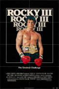 "Movie Posters:Sports, Rocky III (United Artists, 1982). Folded, Fine/Very Fine. One Sheet (27"" X 41""). Sports.. ..."