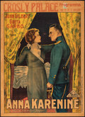 Movie Posters:Drama, Anna Karenina (MGM, 1935). Very Good/Fine on Board.