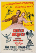 """Movie Posters:Musical, Seven Brides for Seven Brothers (MGM, 1954). Folded, Very Fine. Australian One Sheet (27"""" X 40""""). Musical.. ..."""
