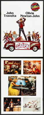 """Grease (Paramount, 1978). Very Fine+. Programs (3) Identical (20 Pages, 9"""" X 12""""). Musical. ... (Total: 3 Item..."""