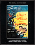 Movie Posters:Horror, Abbott and Costello Meet Frankenstein Shooting Script (Mag...