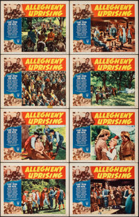 "Allegheny Uprising (RKO, R-1952). Very Fine-. Lobby Card Set of 8 (11"" X 14""). Action. ... (Total: 8 Items)"