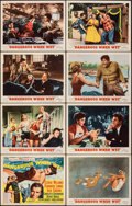 "Movie Posters:Comedy, Dangerous When Wet (MGM, 1953). Fine/Very Fine. Lobby Card Set of 8 (11"" X 14""). Comedy.. ... (Total: 8 Items)"