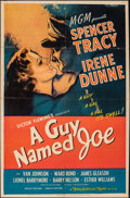 "Movie Posters:War, A Guy Named Joe (MGM, 1944). Folded, Fine+. One Sheet (26.5"" X 40.25""). War.. ..."
