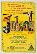 Movie Posters:Drama, The Jolson Story (Columbia, 1947). Folded, Very Fine-....