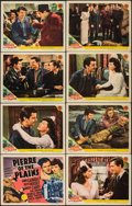 "Movie Posters:Drama, Pierre of the Plains (MGM, 1942). Very Fine-. Lobby Card Set of 8 (11"" X 14""). Drama.. ... (Total: 8 Items)"