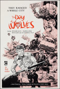 """Movie Posters:Crime, The Day of the Wolves (Cine International, 1972). Folded, Very Fine. International One Sheet (27"""" X 41"""") Felix Artwor..."""