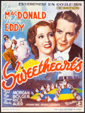 Movie Posters:Musical, Sweethearts & Other Lot (MGM, 1939). Very Fine-. B...