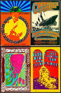 Movie Posters:Rock and Roll, Steve Miller Band at the Fillmore West & Other Lot (Bill Graham, 1969). Very Fine-. Oversize Concert Promotional Post...