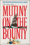 """Movie Posters:Adventure, Mutiny on the Bounty (MGM, 1962). Folded, Fine/Very Fine. One Sheet (27"""" X 41""""). Reynold Brown Artwork. Adventure."""