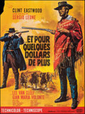 """Movie Posters:Western, For a Few Dollars More (United Artists, R-1970s). Folded, Fine+. French Grande (47"""" X 61.75""""). Jean Mascii Artwork. W..."""