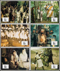 """Movie Posters:Comedy, Monty Python and the Holy Grail (UGC-CFDC, 1975). Very Fine/Near Mint. French Lobby Card Set of 12 (11.25"""" X 9""""). Comedy.. ... (Total: 12 Items)"""