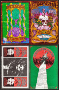 Movie Posters:Rock and Roll, The Grateful Dead at the Winterland Ballroom & Other Lot (Bill Graham, 1968/1969). Overall: Fine/Very Fine. Oversize Concert... (Total: 2 Items)