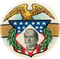 Political:Pinback Buttons (1896-present), William Jennings Bryan: Graphic Button From The Golden Age Of Celluloids....