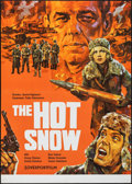 "Movie Posters:Foreign, The Hot Snow (Sovexportfilm, 1972). Folded, Fine/Very Fine. Russian Poster (32"" X 45""). Foreign.. ..."