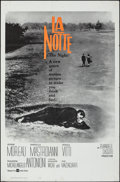 Movie Posters:Foreign, La Notte (United Artists, 1961). Folded, Very Fine-.