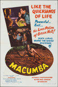 "Movie Posters:Adventure, Macumba (Mocamp Enterprises, 1956). Folded, Very Fine. One Sheet (27"" X 41""). Adventure.. ..."